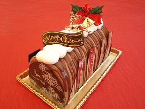 buche de chocolat cacaote.JPG